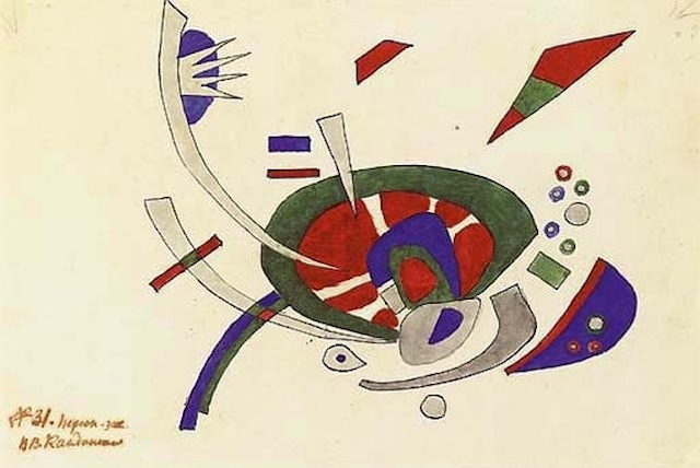 Kandinsky Wassily Kandinsky (1866–1944) was not only a renowned Abstract painter, but was also an influential art theorist, well-known for his ties to the historical German Bauhaus School.  After the closing of Bauhaus by the oppressive Nazi regime, Kandinsky moved to France, where he would live until his death in Neuilly-sur-Seine, leaving behind an incomparable Abstract Art legacy.  Kandisky's 1920 work, Ohne Titel, is now available on artnet Auctions. Place your bid.