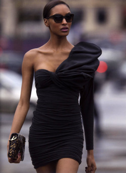 blackandkillingit:  bombshellsecret:  Jourdan Dunn by Hans Feurer for Antidote Magazine SS 2013  Black Girls Killing It Shop BGKI NOW