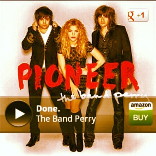 This is my jam today #Done #TheBandPerry