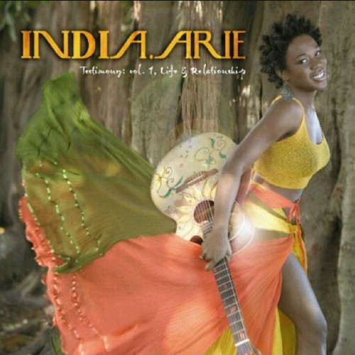 It's that kind of Friday #indiaarie there are no mistakes, just chances we've taken. I'm ready for the journey ahead #bigthingscoming #tgif #blessed