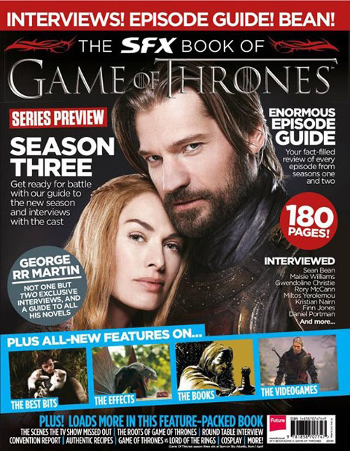 The SFX Book Of Game Of Thrones On Sale Now 180 pages of pure GoT goodness…
