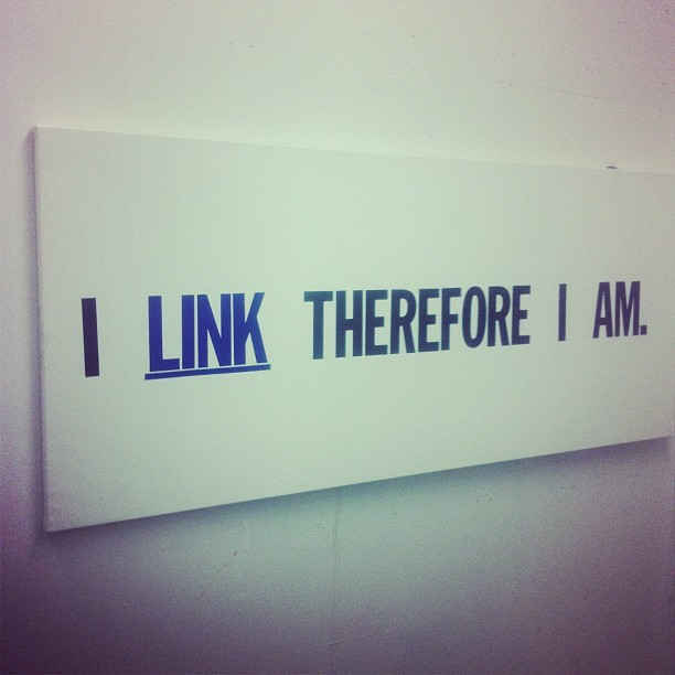 i link therefore i am © kathrynchadason