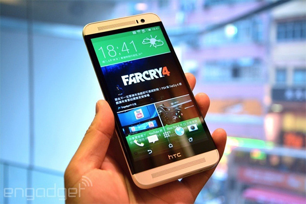 HTC's plasticky One E8 lands in the US courtesy of Sprint