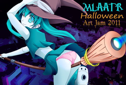 MLAATR ART JAM HALLOWEEN by ~shadow2007x
