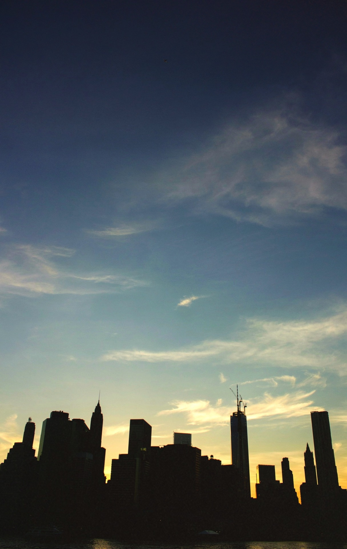 cherbawabaleeb:  Lower Manhattan Skyline. 05-10-13
