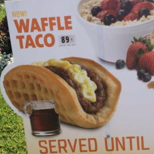 Apparently Taco Bell might be making these.  Game. Set. Match.
