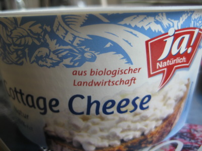 The Best Cottage Cheese in the World: The Ja Natürlich! brand organic cottage cheese is dry, a tad salty, and absolutely delicious.  When I was in the States for Christmas I actually had to spit out cottage cheese because it was so nasty in comparison. My favorite product at Billa!