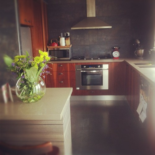 #Kitchen #modern #vintage #flowers