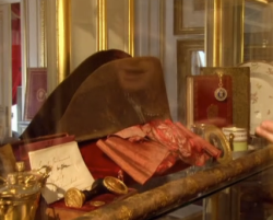 napoleon's hat and decorations
