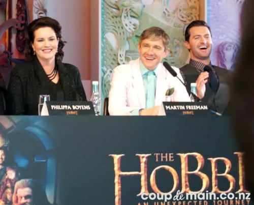 hobbitandme:  NZ Press Conference