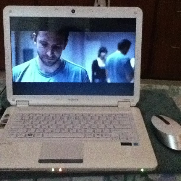 Watching earlier. #SilverLinings I totally ❤Jennifer Lawrence