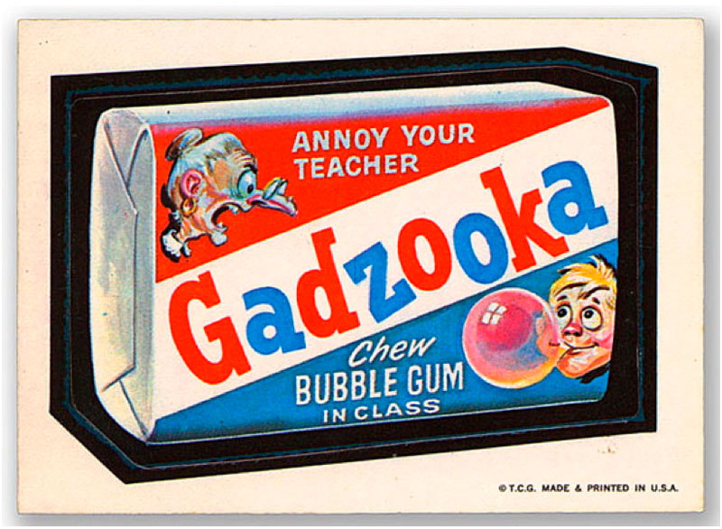 abramsbooks:  Gadzooks, It's Bazooka! Read guest blogger Kirk Taylor's post on the Abrams ComicArts Blog about the new book Bazooka Joe and His Gang by The Topps Company!