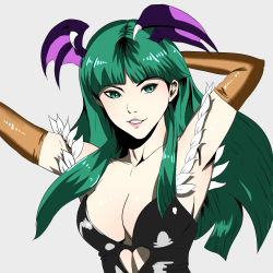 Morrigan Aensland by カトゥミAs found at