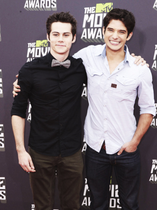 perfectlymale:  Dylan O'Brien and Tyler Posey