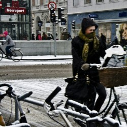 copenfuckinghagen:  The scarf. Uniform of #vikingbiking #copenhagen #cyclechic  Me in a week, cannot wait.