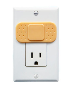 Ouchlet Outlet Cover. Buy here. #design #product @Perpetual_Kid