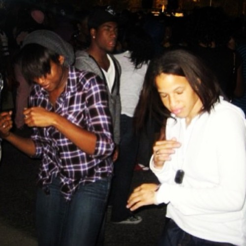 #TBT Me & @lilpenney11 just grooving at #CSUN #MatadorNights back inda day.. #GoodTimes #ClearlyNotSober (still got that flannel tho)