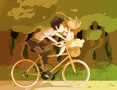 f-premaur:  Rendering color, is hard as hell. and so is DRAWING BIKES OH HELL NO i was inspired by this song ! (v w v)