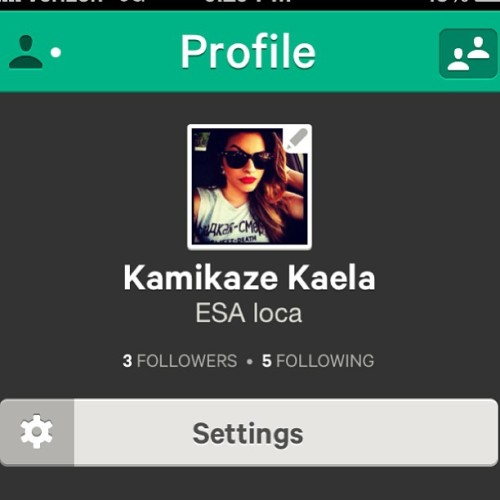 Follow me on vine. Can't figure out how to add people. Lol