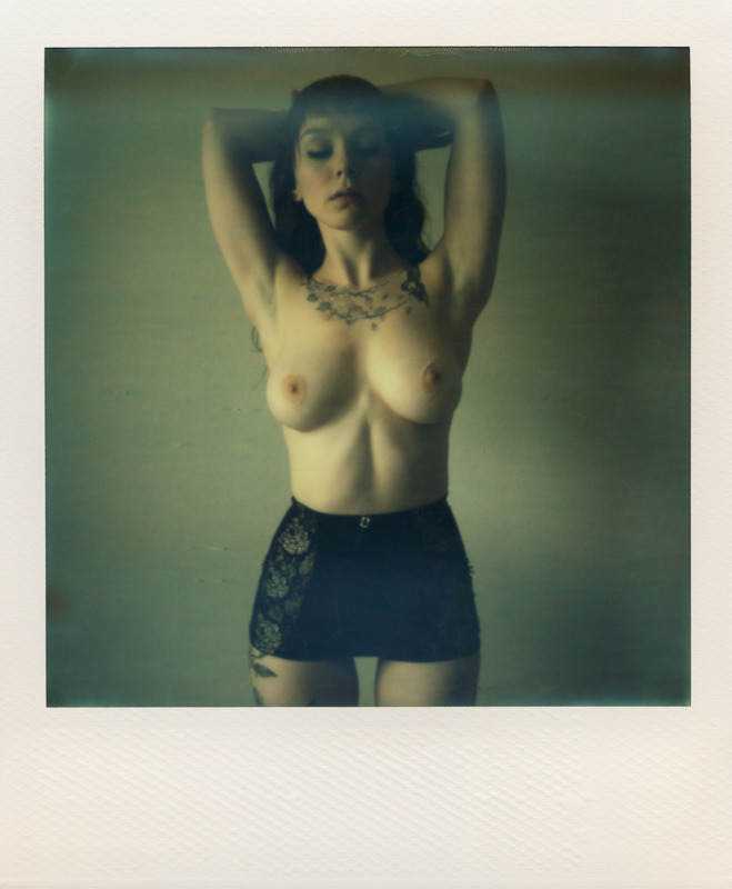 richburroughs:  Finch Linden / Rich Burroughs Shot on The Impossible Project's PX 70 CP film