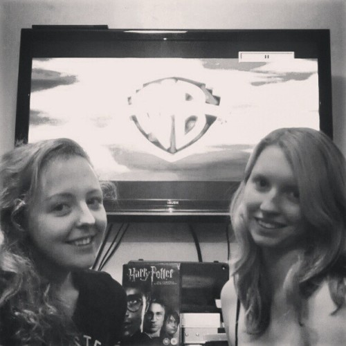3rd January 2013Start of our attempt to watch all 8 harry potter films <3