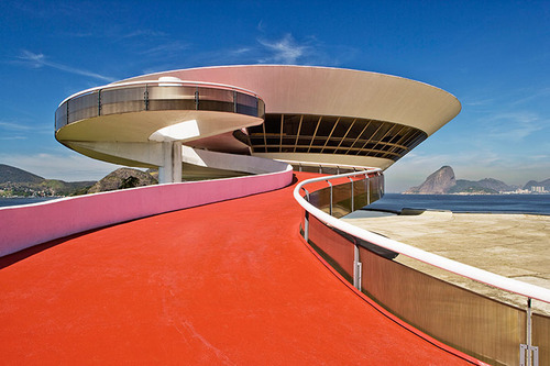 steroge:  The Museum of Contemporary Art in Niterói, Brazil Oscar Niemeyer (1907-2012) - a life in architecture