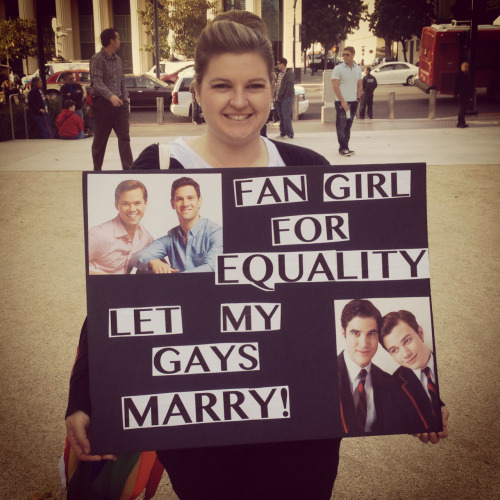 mewtwerk:  courtslosinit:  At the Marriage Equality Rally in San Diego tonight!