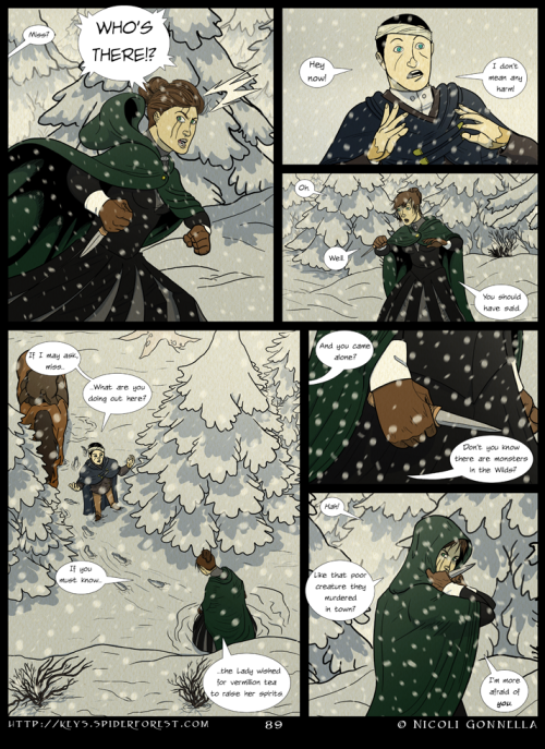 Page 89 colors. This tumblr is always a page behind my main site.  See more at http://keys.spiderforest.com/