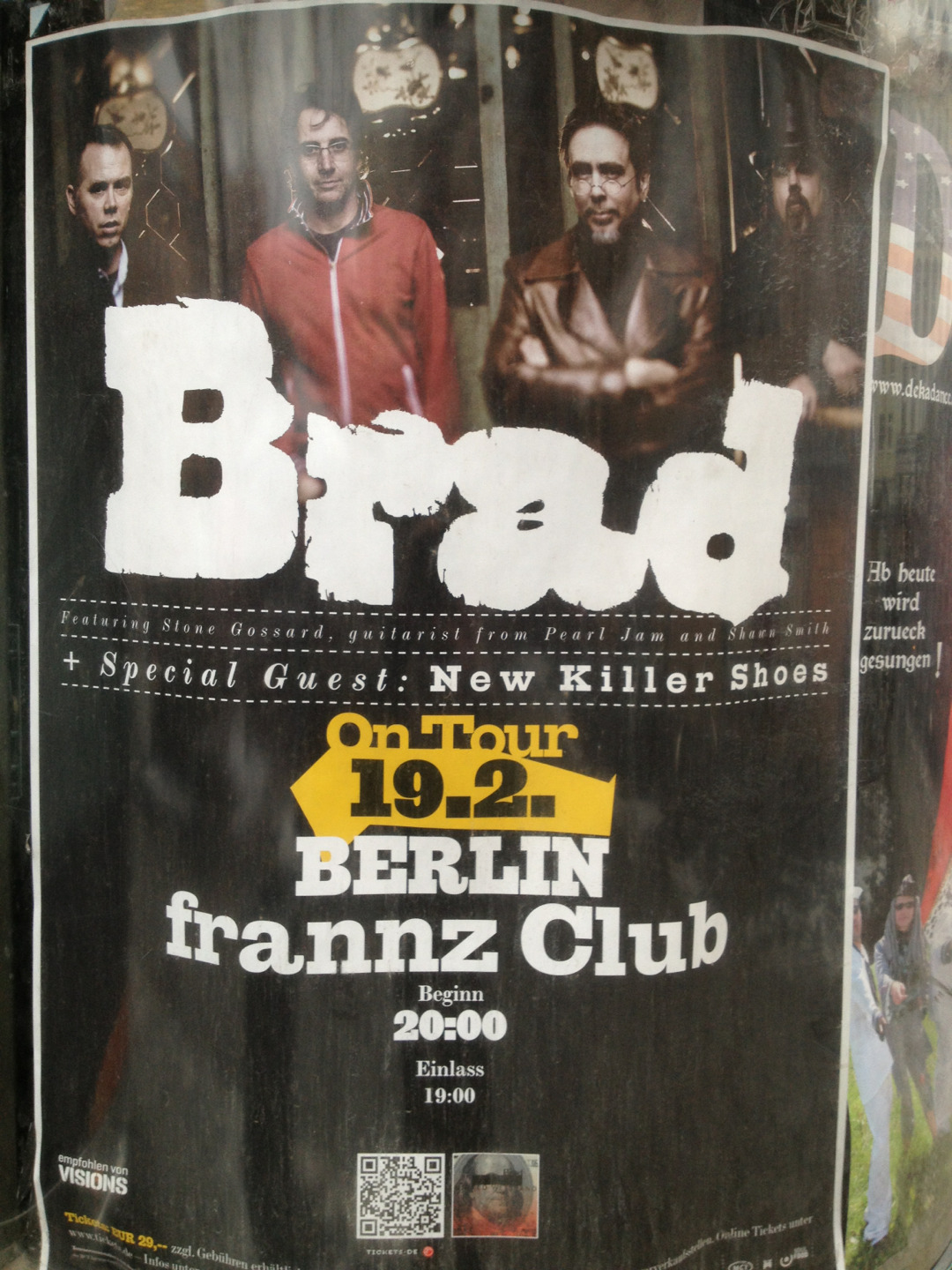 Join us at Frannz Club, Berlin tonight.