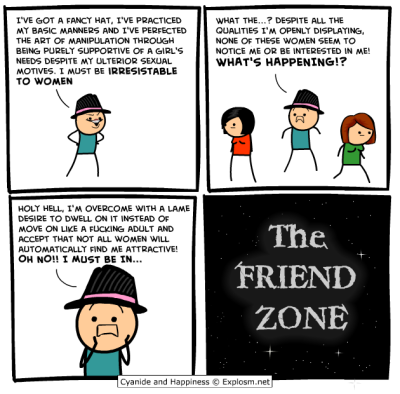 whitepeoplelikeme:  danascullyseyeroll:  norafox:  Cyanide and Happiness nails it.  Reasons why I have not stopped reading Cyanide and Happiness, because they have moments like these.  fancy hats, lol  my life