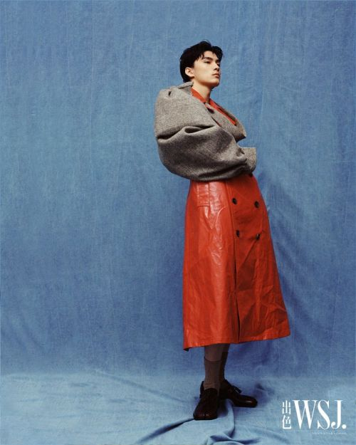 "WSJ Magazine China December 2020, Editorial ""Fun Colors"". Clothing & shoes, Maison Margiela by John Galliano, Défilé Fall 2020 collection. Photographer Effy Yu, Model Kin Huang, styled by Jiacheng Wu #Maison Margiela#Margiela #Maison Margiela by John Galliano #John Galliano#Galliano#fashion#editorial#Effy Yu#Kin Huang#Jiacheng Wu#WSJ#WSJ China #WSJ Magazine China #WSJ Magazine#model#style#aw20#fashion photography"