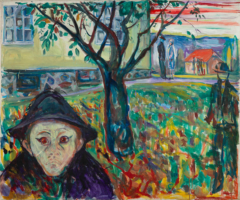 Edvard Munch Jalousi i haven 1929-30