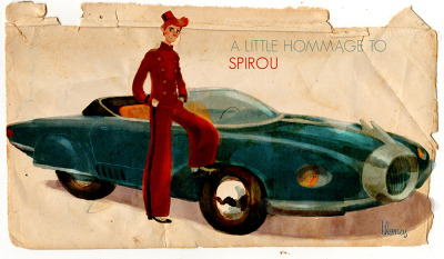 A little hommage to Spirou