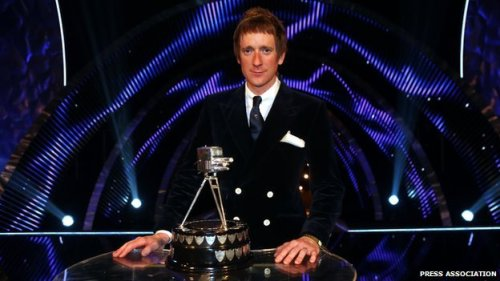 BBC Sports Personality of the Year 2012: Bradley Wiggins. (via CBBC Newsround - Bradley Wiggins is crowned BBC Sports Personality 2012)