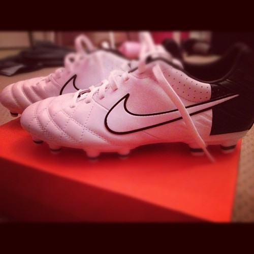 Love new cleats <3 cant wait to play in these bad boys ;D