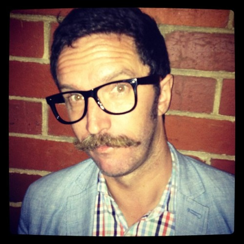 The Aussie Terry Richardson. *puke* (at Rainbow Hotel)