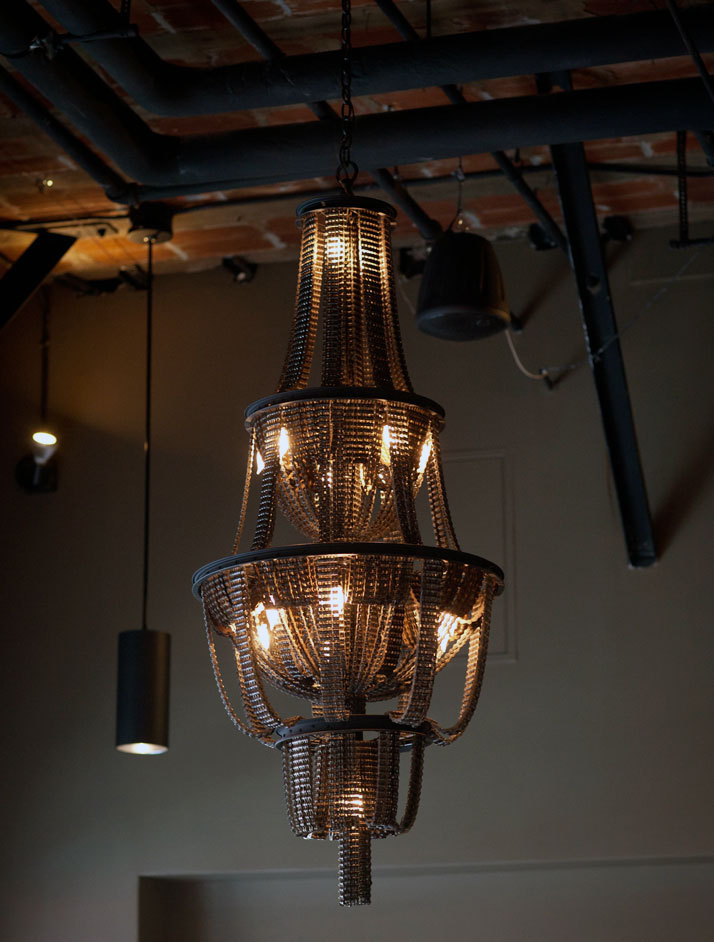 theabsolution:  Recycled Bicycle Chandeliers by Carolina Fontoura Alzaga