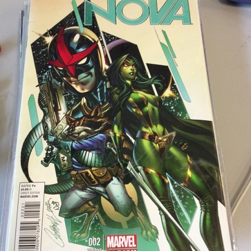 @jscottcampbellart #variants cover to #nova #2 from #marvel #comics #bestcomicstoreever #guardiansofthegalaxy #rocketracoon #comicshop #comicstore (at Comic & Figure Addicts)
