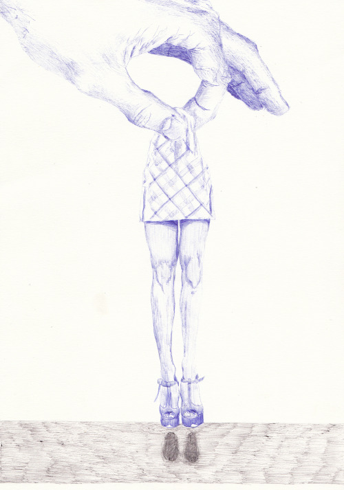 A4. Ballpoint pen on paperhttps://www.youtube.com/watch?v=ddFLhQZ0t_4