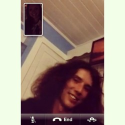Last week, facetime with Kai.