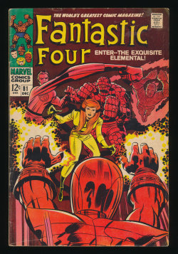 Fantastic Four #81(Dec. 1968)