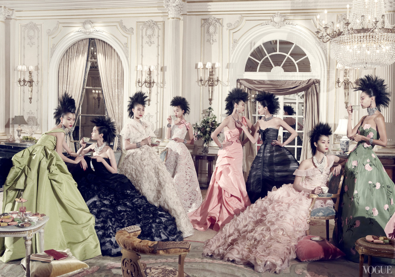 Photographed by Steven Meisel for Vogue, December 2010