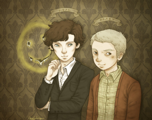 lemutsy:  For Let's Draw Sherlock! I am dedicating this to my best friend since childhood, who recently passed away very suddenly. She was excited about this project and was getting ready to show me her ideas but unfortunately I never got to see them. It's because of her that I got into Sherlock, so this is for her.