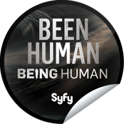 I just unlocked the Being Human Season 3: Been Human sticker on GetGlue                      2946 others have also unlocked the Being Human Season 3: Been Human sticker on GetGlue.com                  You may have Been Human once, but we're not so sure anymore. You proved your humanity by checking-in! Share this one proudly. It's from our friends at Syfy.