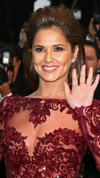 loveyourmakeup:  @cherylcole Lost for words… (Which for me is shocking! Lol) #makeup #cannes #doha