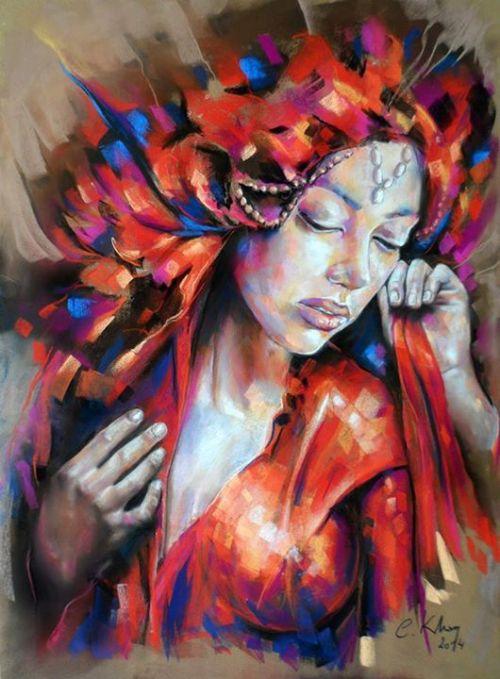 fyblackwomenart:Artist: Claudy Khan