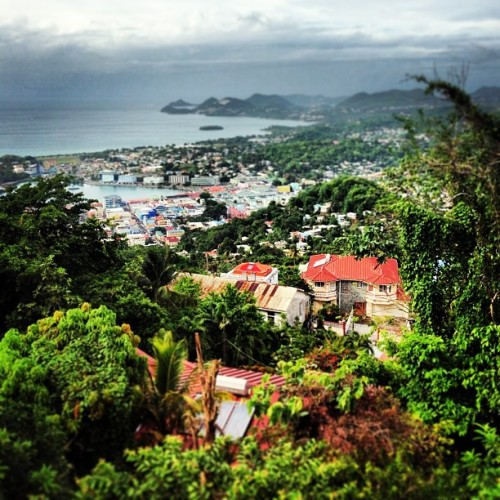 Paradise, via Morne Fortune  (at St. Lucia)