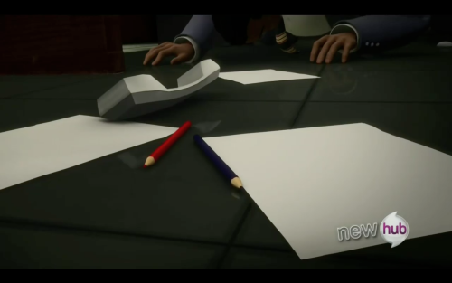 citygrl903:  You guys… Agent Fowler has colored pencils in his office  *dies*
