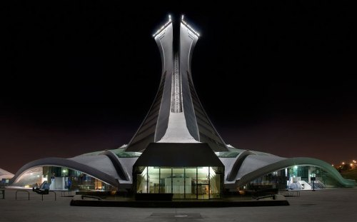 architecturepage:  Olympic Stadium | Montreal (by Alan Carpentier)