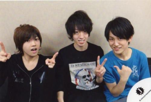 mysearchingheart:  Keigo + Myuto + Yasui = too cute to handle ♥